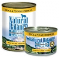 Natural Balance Duck & Potato Formula Canned Dog Food (0.37kg)